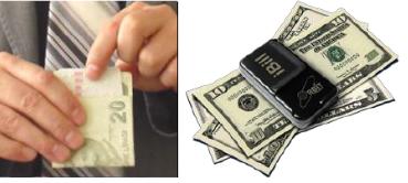 Körler İçin Para Tanıma Aracı Görüntüsü