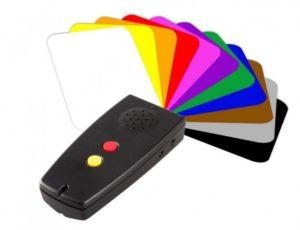 Konuşan (Sesli)Renk ve Işık Tanım Cihazı Görüntüsü