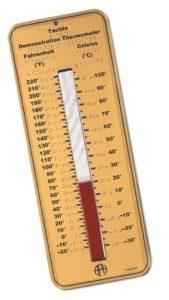 Sesli ve Dokunsal Termometre Görüntüsü
