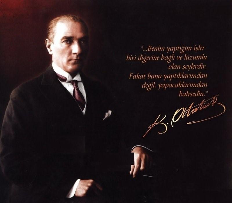 Baş Komutan Gazi Mustafa Kemal ATATÜRK'ün Fotoğrafı